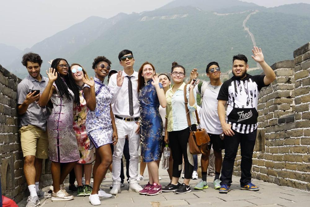 MDC Students Visit Great Wall